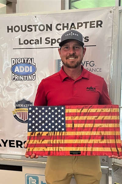 Golf Tournament Winner Houston at Windrose Golf Course