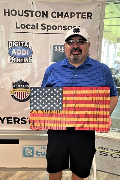 Veteran's golf tournament Winner Amateur Players Tour