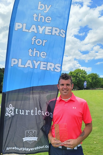 Amateur Players Tour Golf tournament at Hasentree Country Club