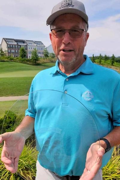 USGA amateur golf tournament