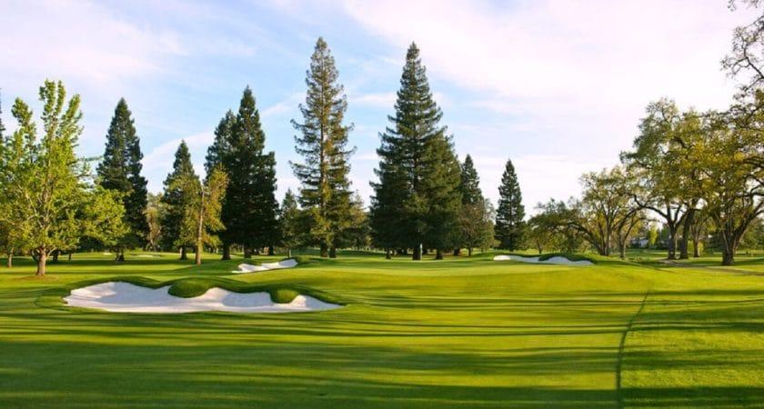 Amateur players Tour at Silverado North Napa California