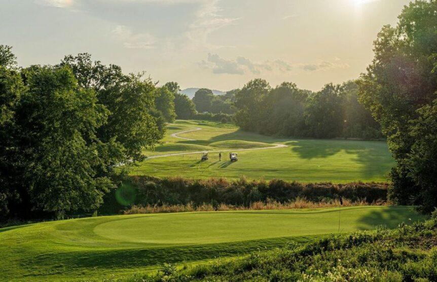 amateur players tour at Franklin Bridge Golf Club