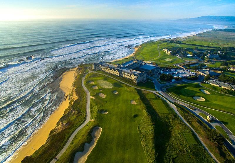 amateur players tour at Half Moon Bay California