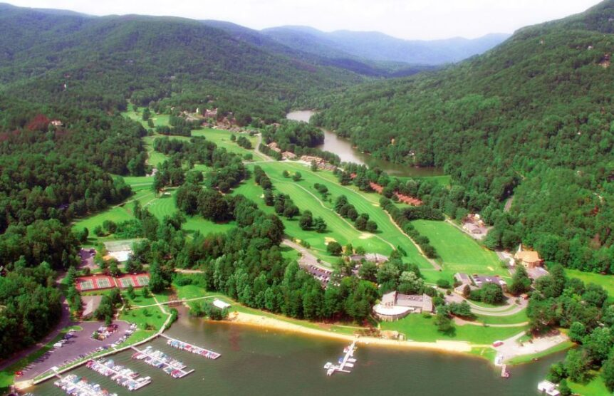 amateur players tour at Lake Lure